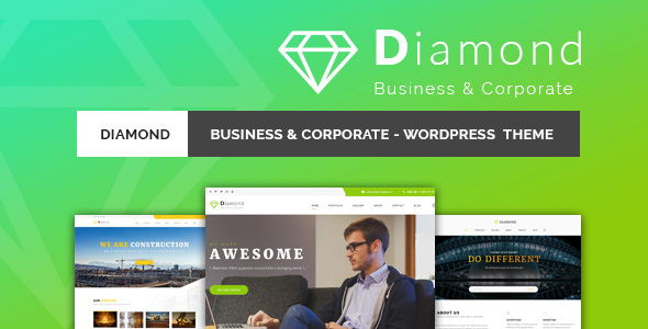 Diamond - قالب وردپرس شرکتی و کسب و کار