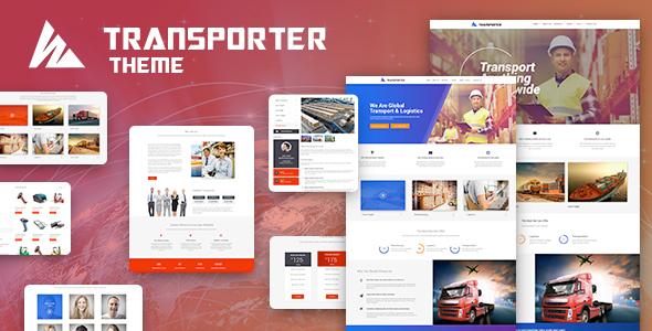 قالب Transporter - قالب وردپرس حمل و نقل و تدارکات