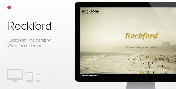 قالب Rockford - قالب وردپرس عکاسی تمام صفحه