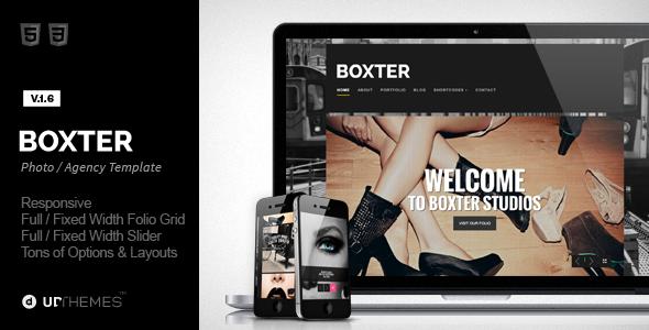 قالب Boxter - قالب وردپرس خلاقانه