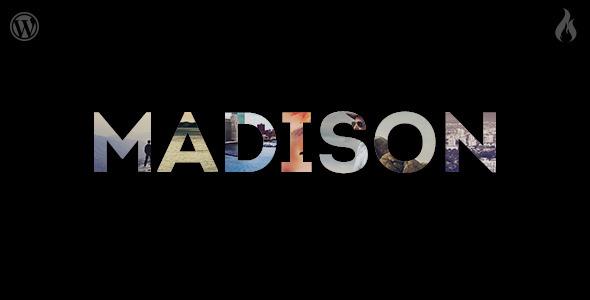 قالب Madison - قالب نمونه کار ریسپانسیو وردپرس