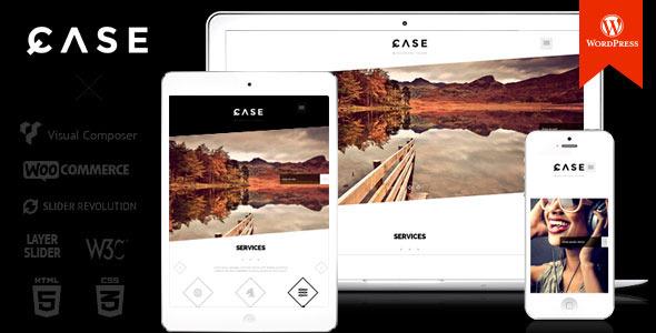 قالب Case - قالب وردپرس تک صفحه ای