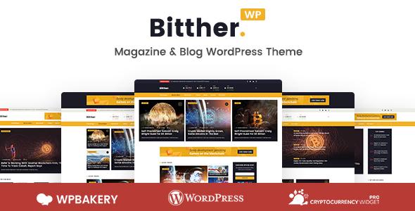 قالب Bitther - قالب وردپرس مجله و بلاگ