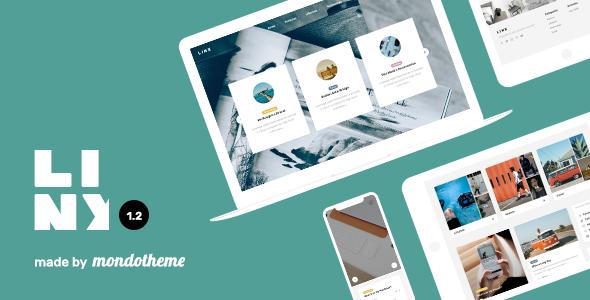 Linx - قالب وردپرس وبلاگ و مجله