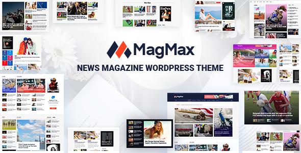 قالب MagMax - قالب وردپرس مجله خبری