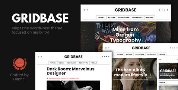 قالب Gridbase - قالب وردپرس خبری