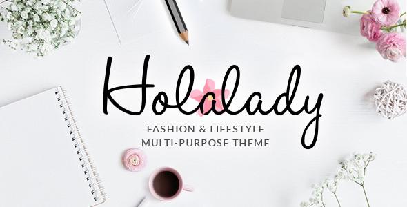 HolaLady - قالب چند منظوره مد و سبک زندگی
