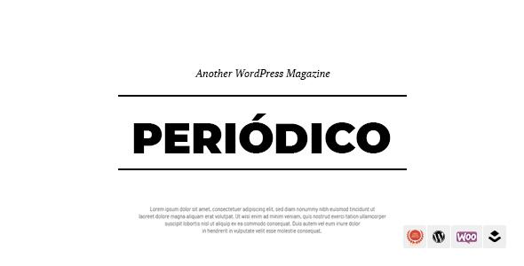 قالب Periodico - قالب وبلاگ وردپرس