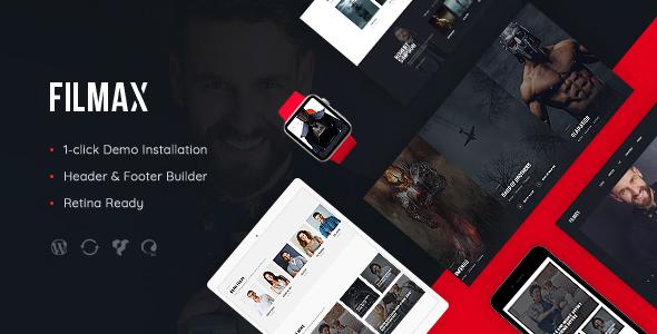 قالب Filmax - قالب وردپرس مجله ی فیلم