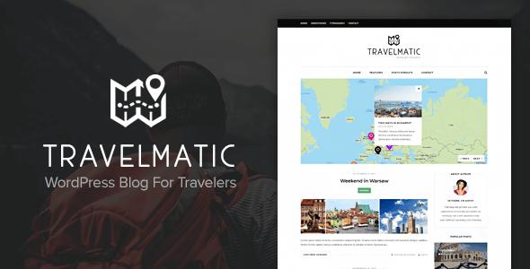 قالب Travelmatic - قالب وردپرس وبلاگ سفر