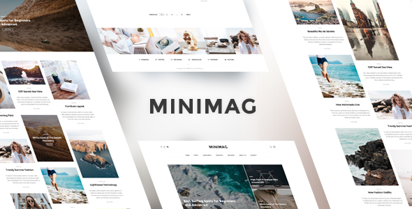 قالب MiniMag - قالب وردپرس مجله و بلاگ