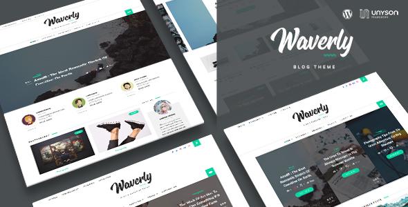 Waverly - قالب وبلاگ وردپرس مدرن