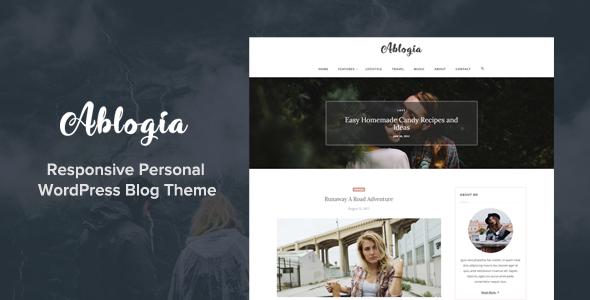 قالب آبلوجیا | Ablogia - قالب وبلاگ وردپرس ریسپانسیو