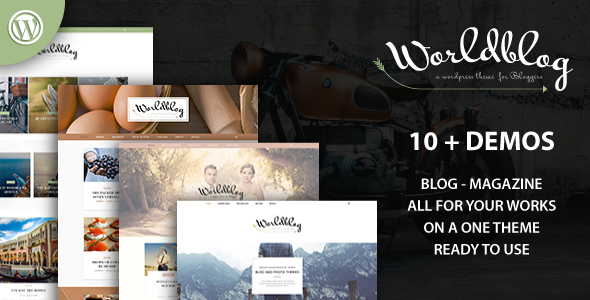Worldblog - قالب مجله و وبلاگ برای وردپرس