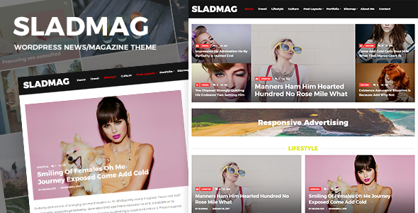 Sladmag - قالب وردپرس خبری و مجله