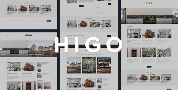 قالب Higo - قالب وبلاگ وردپرس