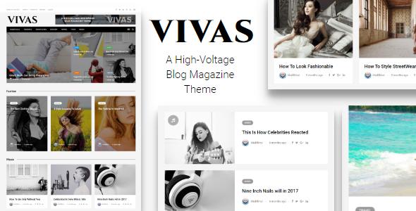 VIVAS - قالب وردپرس مجله و روزنامه