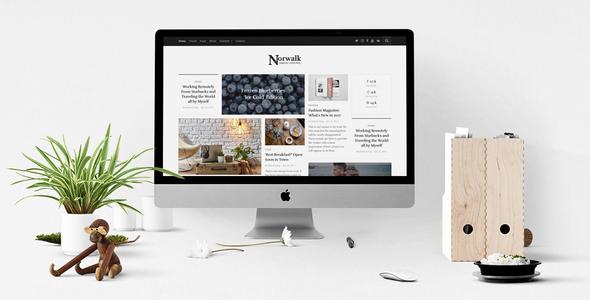 Norwalk - قالب وردپرس مجله و بلاگ
