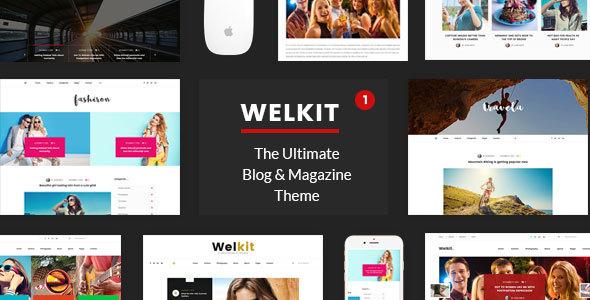 قالب Welkit - قالب وردپرس مجله ای