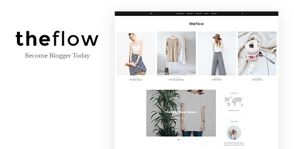قالب TheFlow - قالب سایت شخصی وردپرس