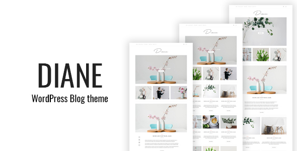 Diane - قالب وردپرس وبلاگی مینیمال
