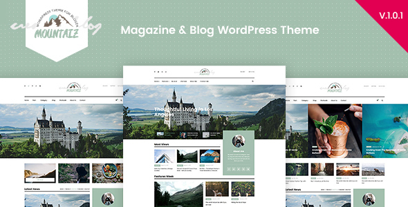 Mountaiz - قالب وردپرس بلاگ و مجله