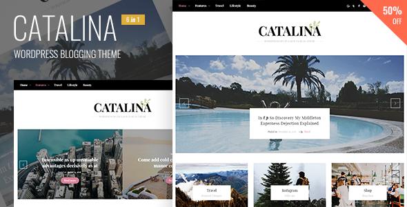 Catalina - قالب وردپرس وبلاگی