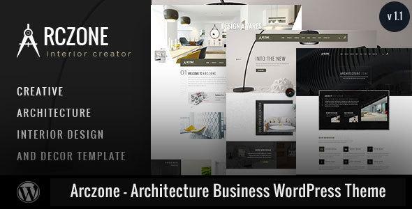 قالب Arczone - قالب وردپرس معماری