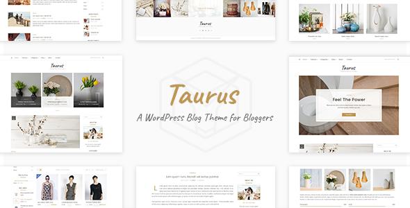 قالب Taurus - قالب وبلاگ شخصی