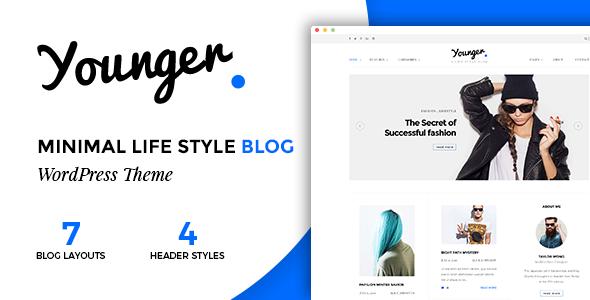 قالب Younger Blogger - قالب وبلاگ شخصی