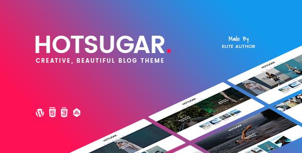 قالب HotSugar - قالب وبلاگ وردپرس ریسپانسیو