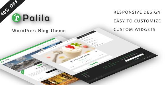 قالب Palila - قالب وبلاگ وردپرس