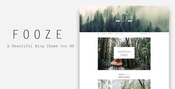 قالب Fooze - قالب وردپرس بلاگی ریسپانسیو