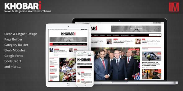 Khobari - قالب وردپرس خبری و مجله