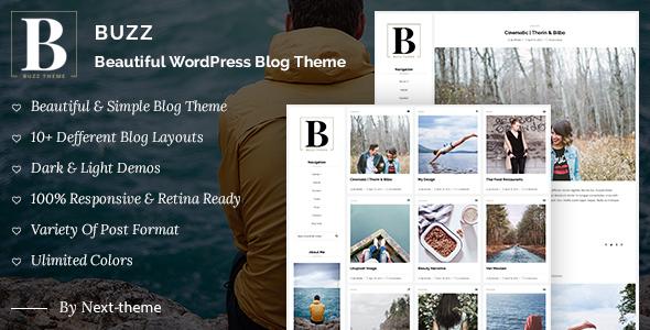 Buzz - قالب وبلاگ وردپرس ریسپانسیو