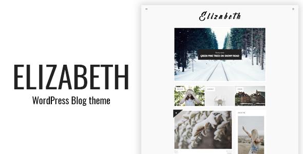 قالب Elizabeth - پوسته وبلاگی برای وردپرس