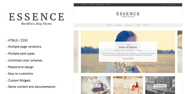 قالب Essence - قالب وبلاگ وردپرس