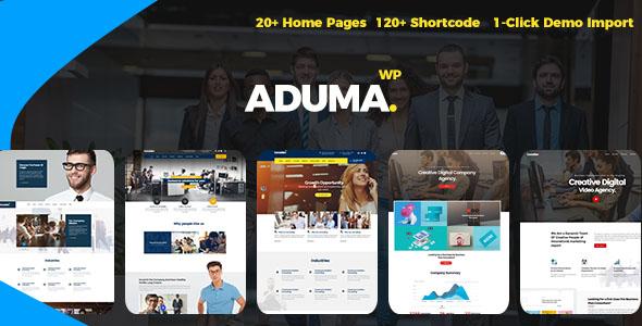 قالب آدوما | Aduma - قالب چند منظوره شرکتی و فروشگاهی