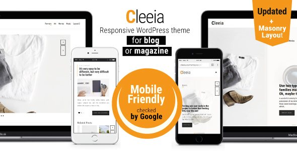 قالب Cleeia - قالب وردپرس سایت خبری و مجله ی آنلاین