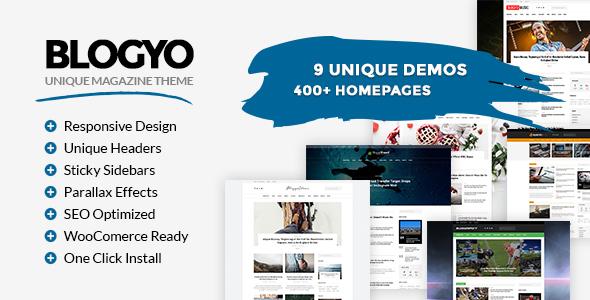 قالب Blogyo - قالب مجله چند منظوره