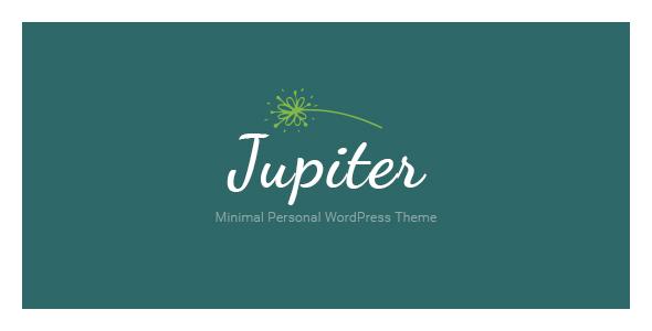 قالب Jupiter - قالب وردپرس شخصی