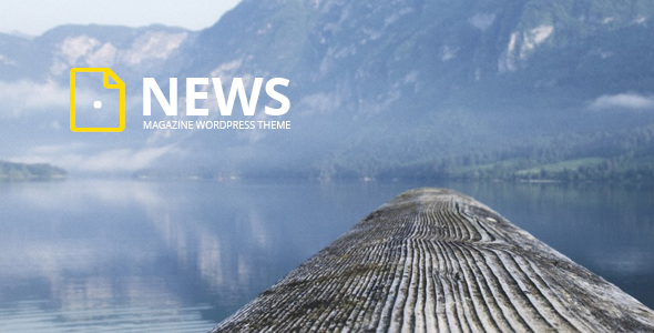 قالب News - قالب وردپرس مجله و وبلاگ