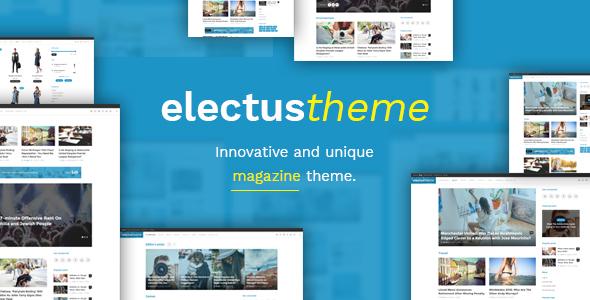 قالب Electus - قالب وردپرس مجله و بلاگ ساده