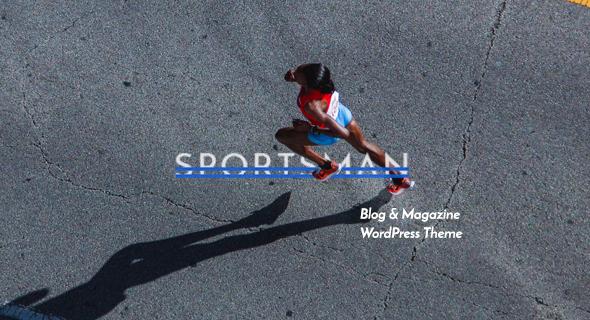 قالب Sportsman - قالب وردپرس وبلاگی خلاقانه