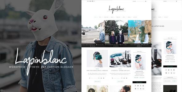 Lapin Blanc - پوسته وردپرس مجله مد