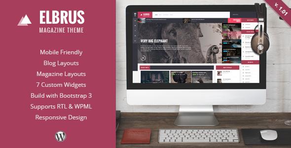 قالب Elbrus - قالب ریسپانسیو مجله برای وردپرس