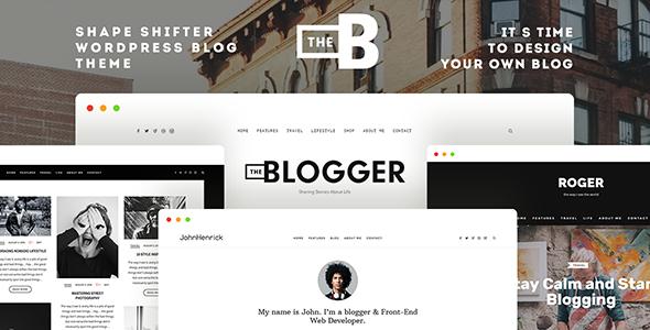 قالب TheBlogger - قالب وردپرس بلاگرها