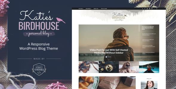 قالب BirdHouse - قالب وبلاگ وردپرس