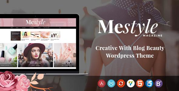 قالب Mestyle - قالب وردپرس بلاگ زیبا