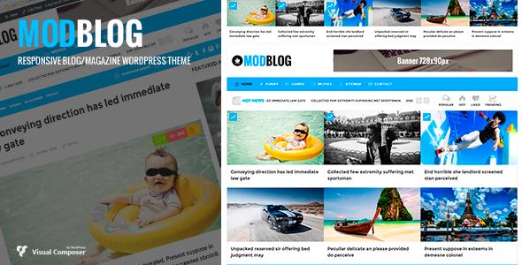 قالب ModBlog - قالب وردپرس وبلاگ و مجله